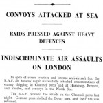 Tuesday, 10 September 1940