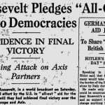 Monday, 17 March 1941