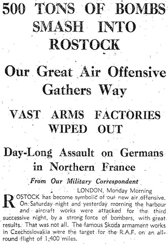 Yorkshire Post, 27 April 1942, 1