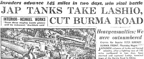 Daily Express, 1 May 1942, 1