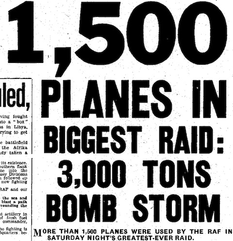 Daily Mirror, 1 June 1942, 1