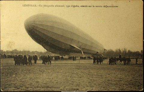 LZ16, Lunéville, April 1913