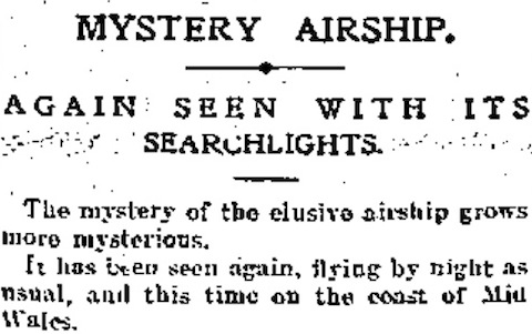 Daily Express, 30 January 1913, 1