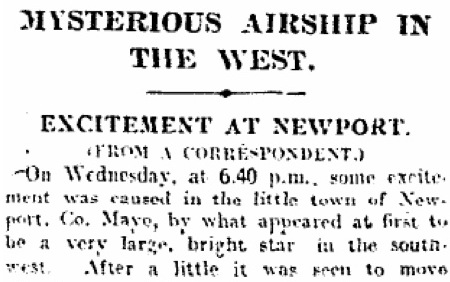 Irish Times, 11 January 1913, 9