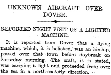 The Times, 6 January 1913, 6
