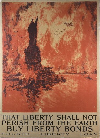 That Liberty Shall Not Perish From The Earth, 1918
