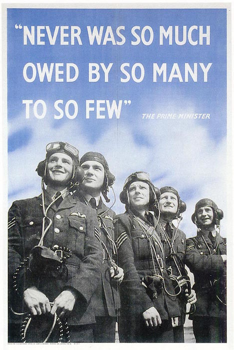 RAF recruiting poster