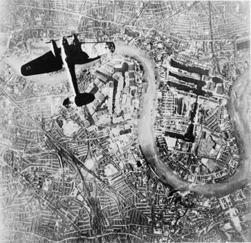 He 111 over London, 7 September 1940