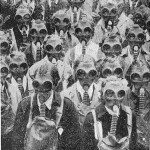 Seventy-two gas masks