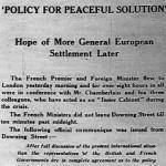 Monday, 19 September 1938