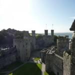 Conwy and Caernarfon