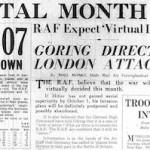 Monday, 9 September 1940