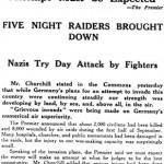 Wednesday, 18 September 1940