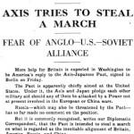Sunday, 29 September 1940