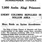 Tuesday, 20 May 1941