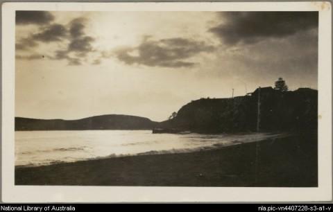 Terrigal beach, 1926