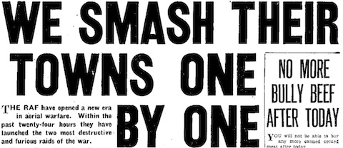 Daily Mirror, 25 April 1942, 1