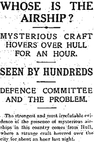 Daily Express, 26 February 1913, 1