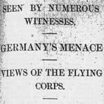 Tuesday, 25 February 1913
