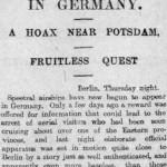 Saturday, 15 March 1913