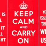 The story behind the terror behind Keep Calm And Carry On