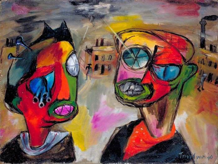 Julian Trevelyan, Premonitions of the Blitz