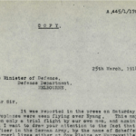 Monday, 25 March 1918