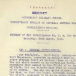 Saturday, 30 March 1918