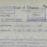 Saturday, 27 April 1918